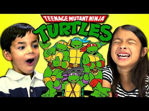 Kids React to Teenage Mutant Ninja Turtles