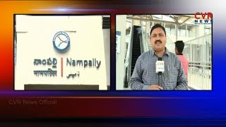 Parking Problems To Passengers Near Metro Stations | Hyderabad | CVR News - CVRNEWSOFFICIAL