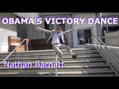  Obama Victory and Obama&#8217;s Victory Dance