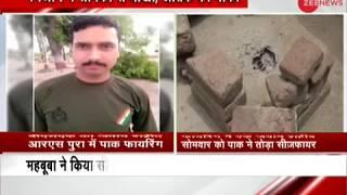 Pakistan violates ceasefire in J&K's RS Pura, 1 jawan martyred - ZEENEWS