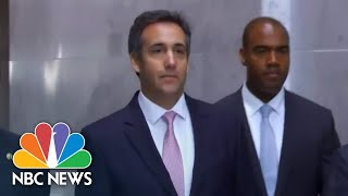 Ex-Trump lawyer Michael Cohen reaches plea deal - NBCNEWS