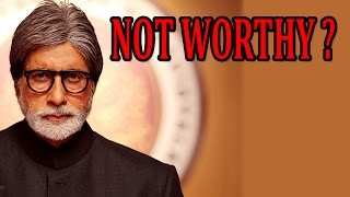 Amitabh Bachchan does not considering himself worth Bharat Ratna Award? | Shamitabh Movie