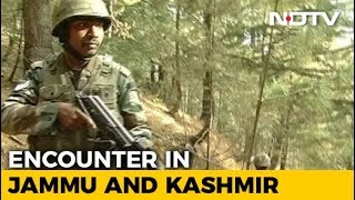 Encounter In Jammu And Kashmir's Anantnag, At Least 2 Terrorists Trapped - NDTV