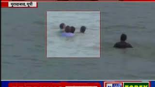Moradabad: Two girls were drown during Ganapati Visarjan - ITVNEWSINDIA