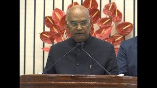 It's our responsibility to safeguard our planet like a soldier: President Ram Nath Kovind - TIMESOFINDIACHANNEL