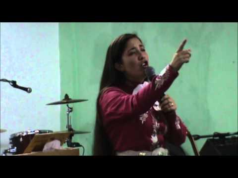 Gladys Muñoz en Templo Ciudad de Refugio Tema: