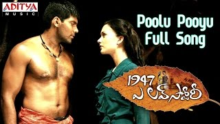 Poolu Pooyu Full Song || 1947 A Love Story Movie || Aarya, Amy Jackson - ADITYAMUSIC