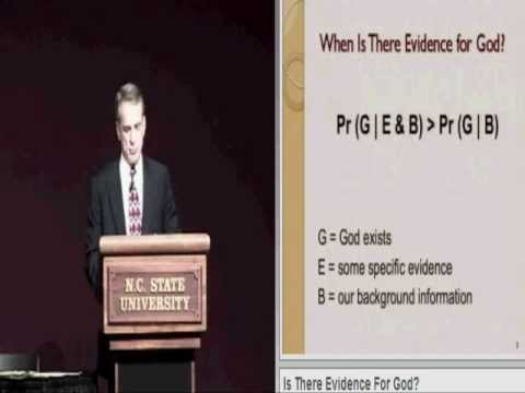 Evidence for God: William Lane Craig vs Lawrence Krauss (2 of 6) - Opening Remarks