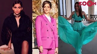 Sonam Kapoor dazzles in black Ralph & Russo dress | Kareena in green flowy dress | Style Today - ZOOMDEKHO