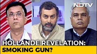 Hollande's Rafale Revelation: BJP's Bofors Moment? - NDTV