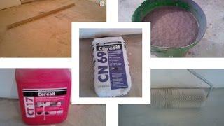Заливаю самовыравнивающуюся смесь Ceresit CN 69