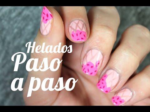 Cómo decorar tus uñas con helados | Diseños nail art de verano
