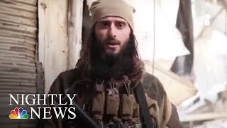 Officials: American from New Jersey now an ISIS commander | NBC Nightly News - NBCNEWS