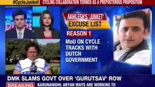 Akhilesh tours Europe as law and order fails in UP - NEWSXLIVE