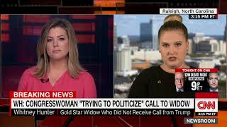 Gold Star widow: I wish Trump had called me - CNN