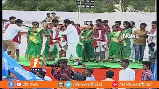 Epuri Somanna Song and KCR and TRS Govt | Rahul Gandhi Saroor Nagar Meeting | Hyderabad | iNews - INEWS