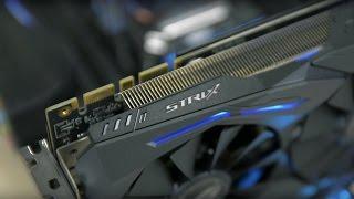 Обзор видеокарты ASUS STRIX GTX1070-8G-GAMING