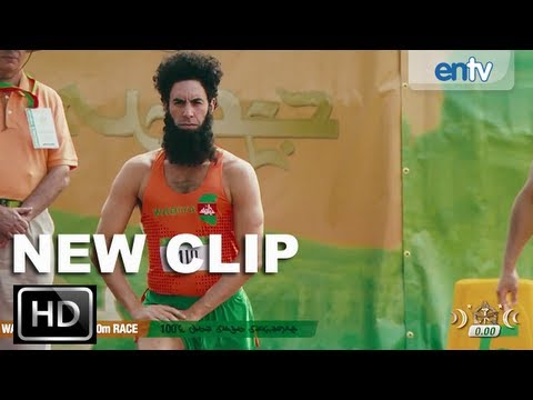 The Dictator Official Opening Scene HD Sacha Baron Cohen As Admiral General Aladeen ENTV