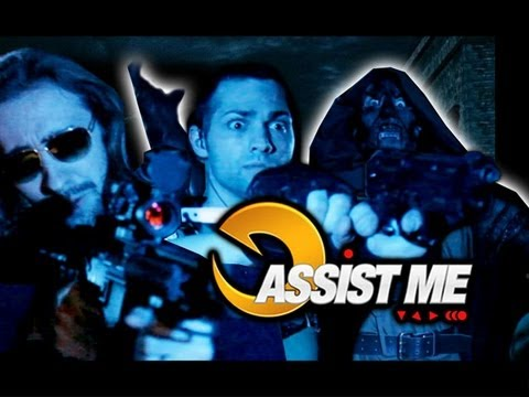ASSIST ME! Feat. Chris Redfield: Part 2 (Ultimate Marvel vs Capcom 3 Tutorial/Parody)