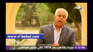 بالفيديو.. حمدى رزق يقدم برنامج «نظرة» من دير السريان بمناسبة «عيد القيامة»