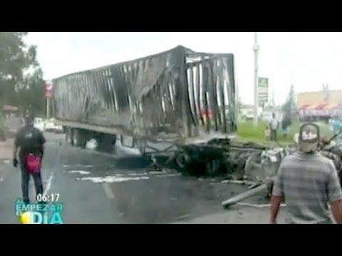 Narcobloqueos vuelven a  las vialidades de Jalisco; hay un muerto