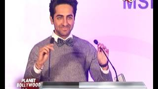 Ayushmann Khurana at an event | Bollywood News - ZOOMDEKHO