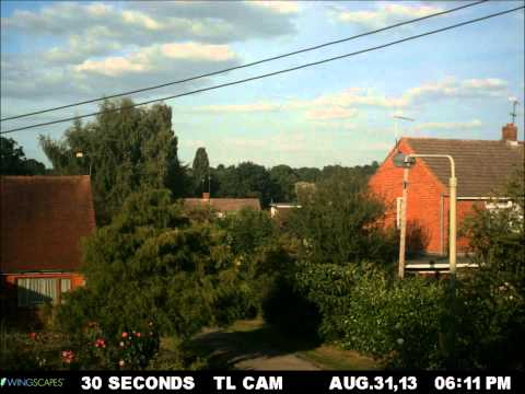 Timelapse Late summer in Berkshire England