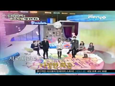 Super Junior Foresight (Ep 6) - Here I am (Secret Garden) - Kyuhyun Ryeowook Hyorin [110112]
