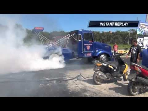 Drag Truck Racing Puerto Rico Semi Truck 8.80 @ 1/8 mile
