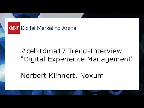 #cebitdmx17 Interview Norbert Klinnert, Noxum