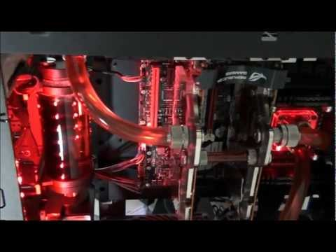 Singularity Computers Client Build 4 - TJ11 Extreme Water-cooling: Part 4