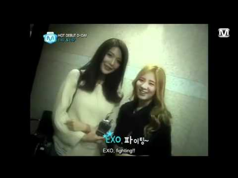 [120405] EXO cut from Mnet Wide (SNSD cut) (Eng Sub)