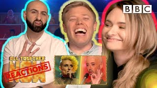 REACTING TO THE TV SHOW WE'RE ON #3 W/ Talia Mar, Rob Beckett, Singing Dentist - All Together Now - BBC