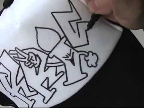 Vẽ nón bằng bút Artline - YouTube