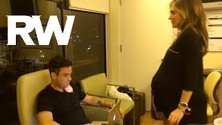 روبي ويليامز يشارك العالم ولادة زوجته أيدا فيلد لطفله الثاني