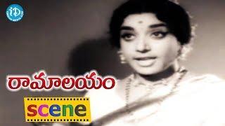 Ramalayam Movie Scenes - Jamuna Mocking Her Sister    Jaggaiah    Shobhan Babu - IDREAMMOVIES