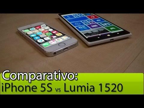 Nokia 1520 vs iphone 6 plus