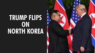 Trump says North Korea still extraordinary threat - ZEENEWS