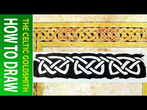 How to Draw Celtic Knots 16 - Willibrord Triskele 1/4