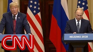 "White House says Trump ""disagrees"" with Putin's proposal to question Americans - CNN"