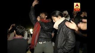 JNU students protest at midnight, seek 'freedom' from 75% attendance - ABPNEWSTV