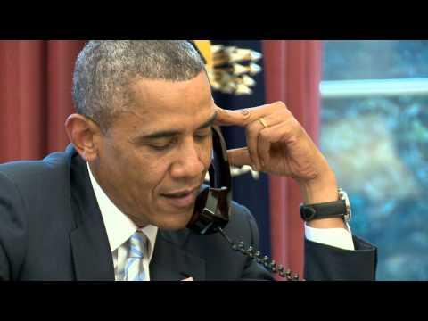 ओबामाले आफ्ना खेलाडीलाई फोनमा भने : दाह्री काटेर घर फर्क