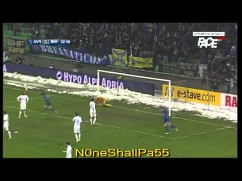 Slovenia 0 - 3 Bosnia and Herzegovina, All Goals And Highlights, 6th February, 2013! HD