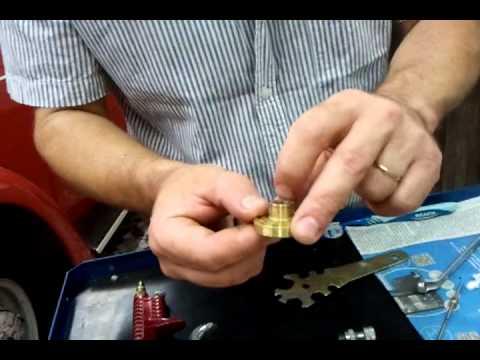 Tonella - limpeza e desmontagem da pistola de pintura HVLP 2/2