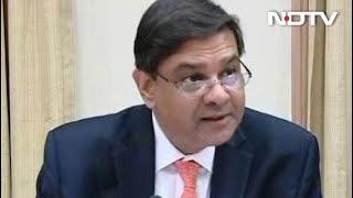 RBI के गवर्नर उर्जित पटेल ने दिया इस्तीफा - NDTVINDIA