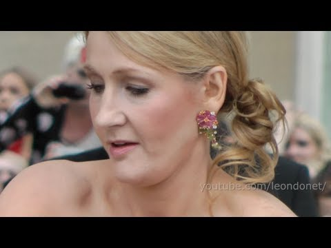 JK Rowling - Harry Potter and the Deathly Hallows Premiere London 2011 - Magical episode 4