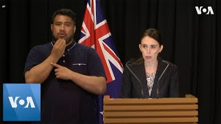 New Zealand Minister Jacinda Ardern Announces Ban on Assault Weapons Following Christchurch Attack - VOAVIDEO