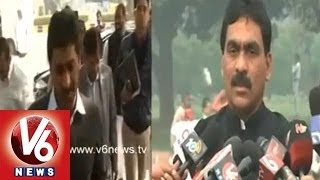 Seemandhra Congress, TDP Leaders and Jagan Match Fixing - V6NEWSTELUGU