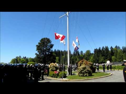 New CDN Navel Ensign Raised at H.M.C.S. Discovery