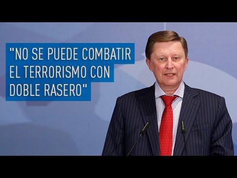 """""""No se puede combatir el terrorismo con doble rasero"""""""